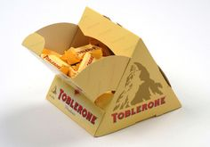 Toblerone Fractal Pack by Ducart Packaging Industries