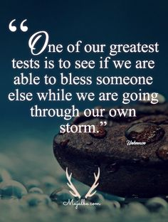 Greatest Test Love Quotes