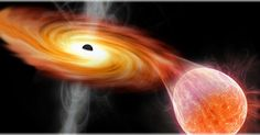 O buraco negro está localizado na galáxia PGC 43234, a 300 milhões de anos-luz da Terra