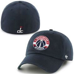 303dbf2ffbd84 Washington Wizards  47 Current Logo Franchise Fitted Hat - Navy
