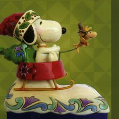 """Jim Shore """"Snoopy"""" - this piece is only available at Hallmark Gold Crown Exclusive stores. Yes - Troup's has it!"""