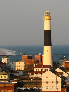 Absecon Lighthouse, Atlantic City, New Jersey by Wernher Krutein, via Flickr