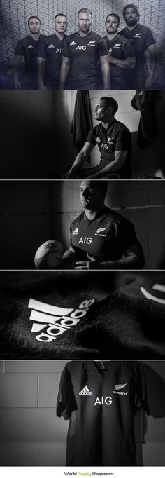 ALL BLACKS UNVEIL 2017 HOME JERSEY  Fresh off their record breaking 18th consecutive win last weekend, the New Zealand All Blacks unveiled their 2017 home jersey by adidas at an event attended by All Blacks captain Kieran Read, Owen Franks, and Malakai Fekitoa in Auckland. The jersey is the 'strongest' ever produced by adidas and will had its on-field debut against Ireland at Soldier Field in Chicago on November 5.