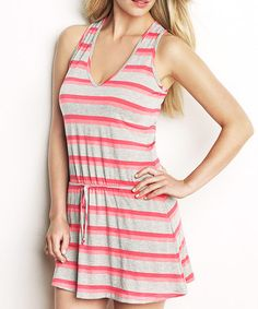 Take a look at this Sunset Stripe Racerback Nightgown - Women by intiMINT on #zulily today!