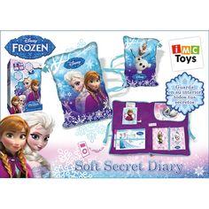 Juguete FROZEN DIARIO SOFT SECRET Precio 23,72€ en IguMagazine #juguetesbaratos