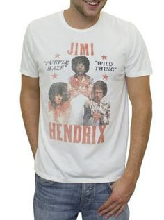 19.00 Jimi Hendrix Vintage Inspired T-shirt