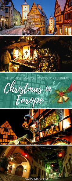 Six destination to spend my Christmas in Europe - Christmas market!