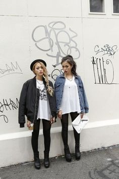 Every rocker needs a bomber and a jean jacket in their wardrobe.