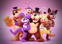 Happy First Birthday FNaF! by SmashingRenders.deviantart.com on @DeviantArt…