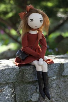 RomaSzop - blog in Polish, her dolls have amazing faces