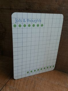 We love this cute journaling card!