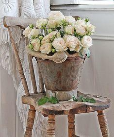 VIBEKE DESIGN: Sart ,romantisk og rustikk ...
