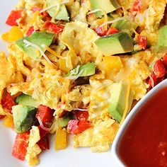 Recipe: Skinny Avocado Egg Scramble
