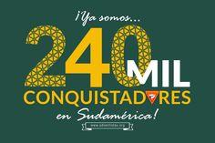 #conquistadores #dsa #sudamerica