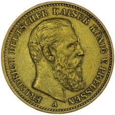Preussen, Friedrich 1888 20 Mark 1888 A Gold Deutsches Kaiserreich