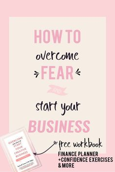 How to conqueror the most common fears that entrepreneurs experience. The fear about finances, experience and the unknown. Overcome your fear and use it to build a better business. #followback #startup #entrepreneur
