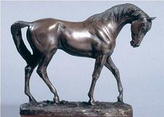 Bronze Horse Sculpture. This beautiful mare, aptly named Graceful, is an equestrian masterpiece in cold cast resin bronze by England's most widely regarded leading animal sculptor. http://www.annabelchaffer.com/products/Bronze-Horse-Sculpture.html