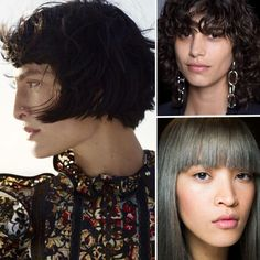 The Hair Trends That Are Going To Be Huge In 2016- Guess that I'm ahead of the curve with my bangs :-D