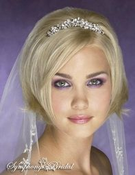 Elegant Rhinestone And Crystal Bridal Tiara Comb Special One Left