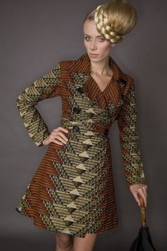 African print coat…love!