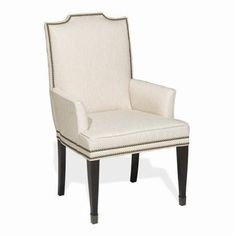 Travis Arm Chair by Michael Weiss Classics at Vanguard Furniture - 41.5H 24.5W 27D