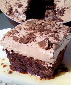 Greek Desserts, Greek Recipes, Sweets Recipes, Cooking Recipes, Best Chocolate Cake, Sweets Cake, Yummy Cakes, Food To Make, Bakery