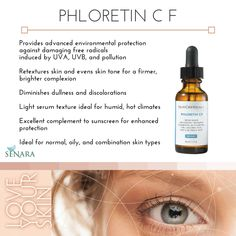 Unbeatable antioxidant protection with SkinCeuticals Phloretin CF. LOVE how this product repairs skin tone!