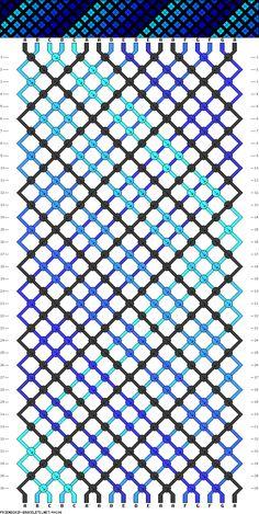Muster # 44306, Streicher: 18 Zeilen: 36 Farben: 7