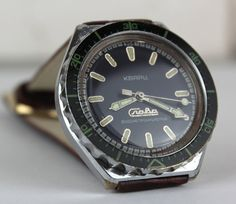 Very rare Slava AMPHIBIA Soviet watch  от mensVintageWatches