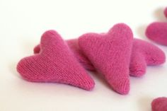 Cashmere Catnip Heart Cat Toy