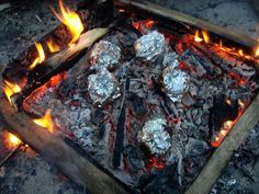 Tips and Recipes for Foil Wrapped Campfire Cooking... the possibilities are endless, camping or RVing! :)