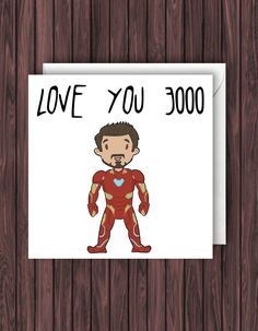 End Game Iron Man Iron Man Birthday Card. Marvel Cards, Marvel Gifts, Valentines Day Cards Handmade, Funny Valentine, Birthday Cards For Men, Funny Birthday Cards, Birthday Quotes, Birthday Wishes, Happy Birthday