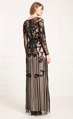 Long Catroux Dress