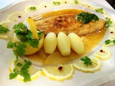Sole Meunière with parsley potatoes #Sole-Meunière #parsley-potatoes