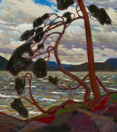 """Tom Thompson (Group of Seven) - """"West Wind"""""""