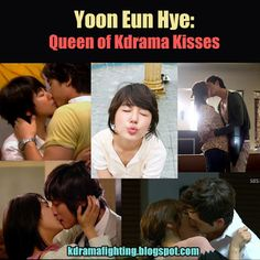 KDrama Fighting! : The Queen of Kdrama Kiss Scenes: A Tribute to Yoon Eun Hye #kdramafighting