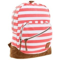 Roxy Backpack - v cute stripes Roxy Backpacks, Back To School Backpacks, V Cute, Backpack Purse, Cute Bags, Girls Best Friend, Purses And Bags, Shoe Bag, Work Travel