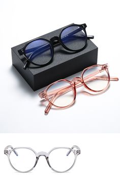 Eye Protection Glasses, Anti Glare Glasses, Computer Glasses, Eye Strain, Mens Glasses, Eyewear, Light Blue, Sleep, Night