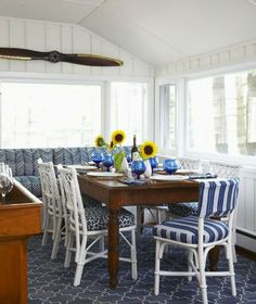 Windsor Smith Design      Navy. It isn't just nautical.   Anne Hepfer   Bold patterns, geometrics, animal prints…   Verandah House  Or just the solid shade, we love navy for its deep, bold personality