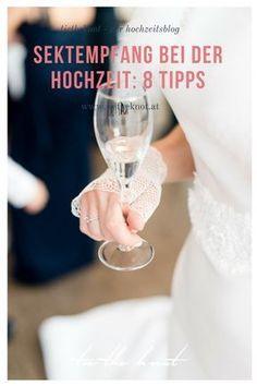 Unsere Tipps und Ideen für die Organisation, die passenden Speisen & Getränke sowie für die Dauer des Sektempfangs zur Hochzeit.