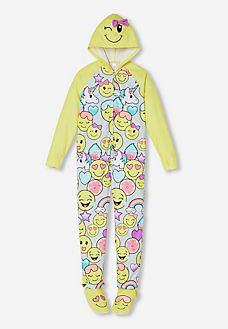 Hooded Emoji Onesie