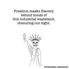 Lady Liberty (or slavery?) #wednesdayexpressions #illustration #art #poetstea #midnightpoetry #poetry #poem #niume #quoteoftheday #quotes #quote #story #shortstory #fairytale #writing #prose #poetrycommunity #writer #original #micropoetry #words #wordporn #literature #poetryislife #poetryisnotdead #life #death #love