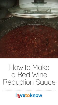 Red wine reductions make delicious sauces for all types of meats, including Red Wine Chicken, Sauce For Chicken, Cooking With Red Wine, Cooking Wine, Sauce Recipes, Wine Recipes, Gourmet Recipes, Pastry Recipes, Chimichurri