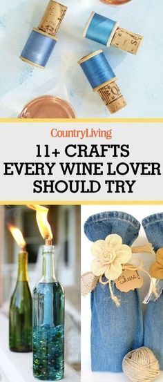 Wine Cork Crafts - Gifts for Wine Lovers #GiftsForWineLovers #winecorkcrafts