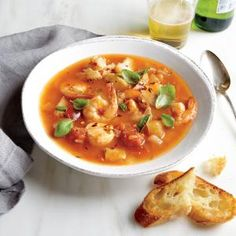 Slow Cooker Cioppino | MyRecipes.com #myplate #protein #veggies