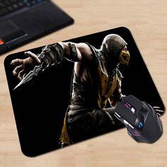 Mortal Kombat X Anti-Slip Mouse Pad 180x220x2mm 250x290x2mm mat Cool Design
