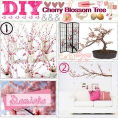 DIY Cherry Blossom Tree - Polyvore