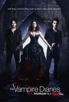 Hey Everyone This is a Promo Poster For TVD I MadeFeaturin' The Trio Ian Somerhalder as Damon Salvatore , Nina Dobrev as Elena Gilbert and Paul Wesley as Stefan SalvatoreUnder The Title: will they survive the war or,they become death ? Vampire Diaries Stefan, Serie The Vampire Diaries, Vampire Diaries Outfits, Vampire Diaries Poster, Vampire Diaries Wallpaper, Vampire Diaries Seasons, Vampire Diaries Quotes, Vampire Diaries The Originals, Stefan Salvatore