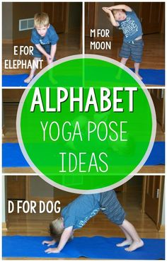 Alphabet yoga is an awesome way to add physical activity to your home classroom or therapy. The kids are so engaged with each letter and it is SO MUCH FUN! Alphabet yoga is awesome for the classroom morning meeting physical educ Physical Activities For Preschoolers, Physical Education Activities, Gross Motor Activities, Movement Activities, Therapy Activities, Educational Activities, Health Education, Alphabet Activities, Health Activities