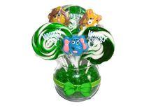 Ready to Ship Small Jungle Animals Lollipop by EdibleWeddings, $24.99